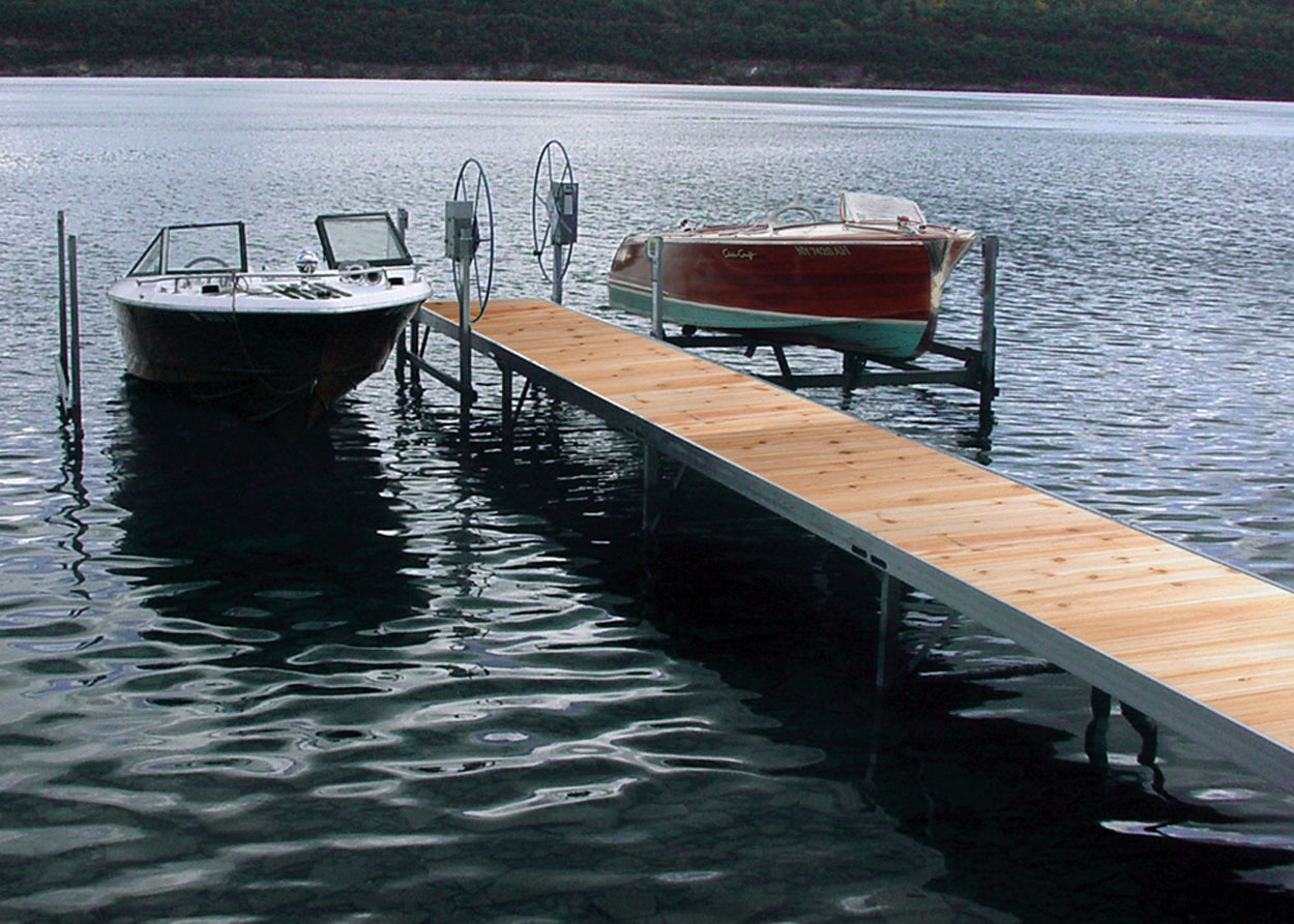 how to build a crib dock