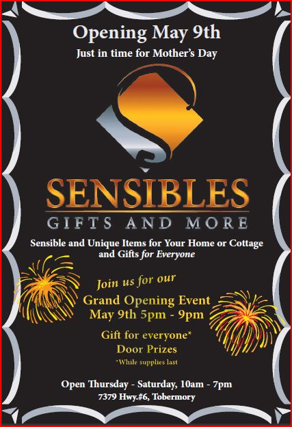 Sensibles Gifts and More Grand Opening